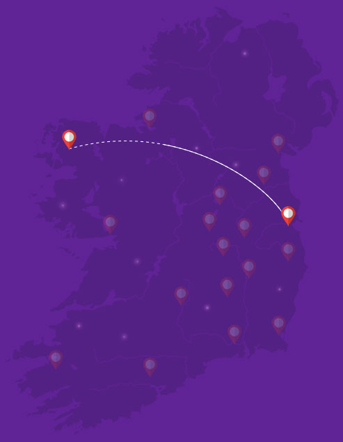 OnDemand Courier Dublin to Clare 21