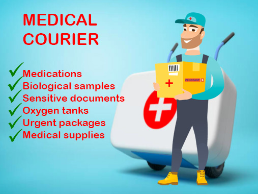 What makes a good medical courier? 7