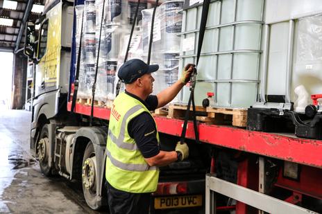 Hazardous goods transportation in logistics 6