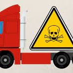 Hazardous goods transportation in logistics 4